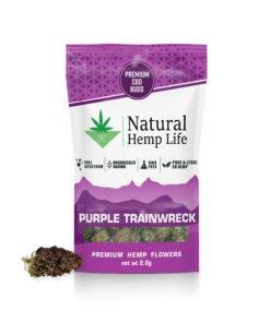 Purple Trainwreck Front